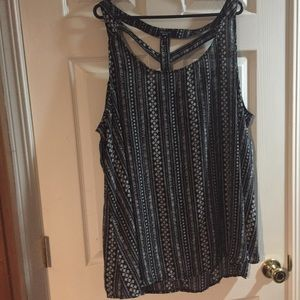 New look size 24 caged tank